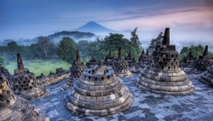 Borobudur - Indonezija